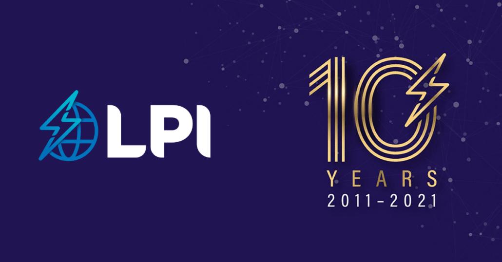 LPI Group 10 year anniversary rebrand